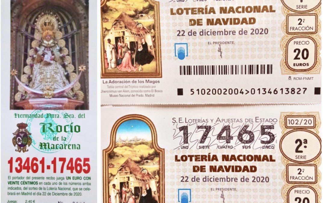 MAYORDOMÍA-TESORERÍA | LOTERÍA DE NAVIDAD
