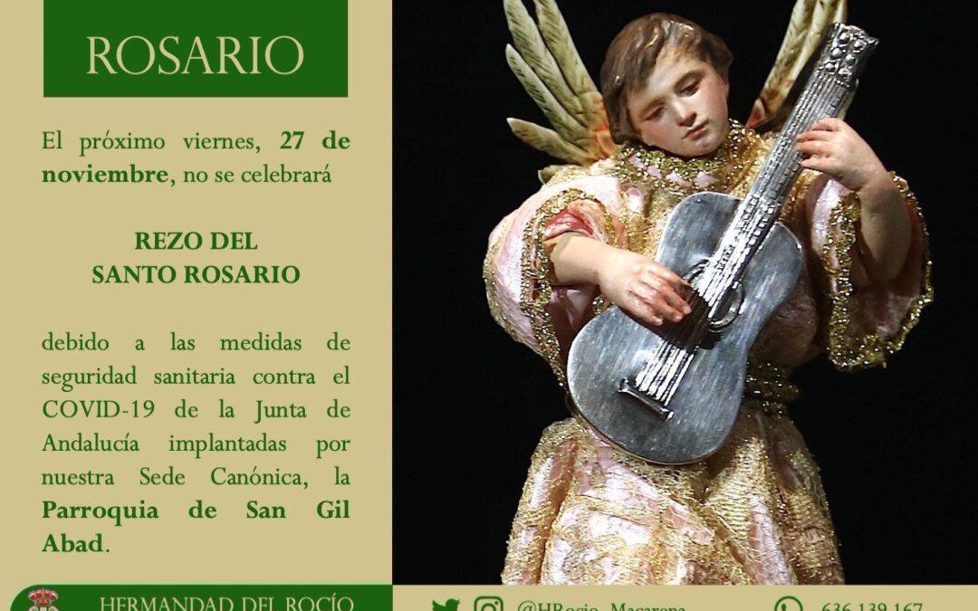 CULTOS | REZO DEL SANTO ROSARIO.