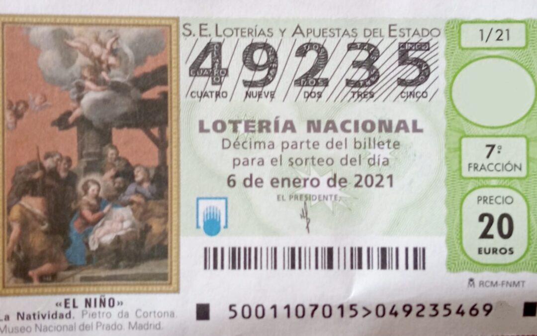 MAYORDOMÍA-TESORERÍA   LOTERÍA DEL NIÑO.